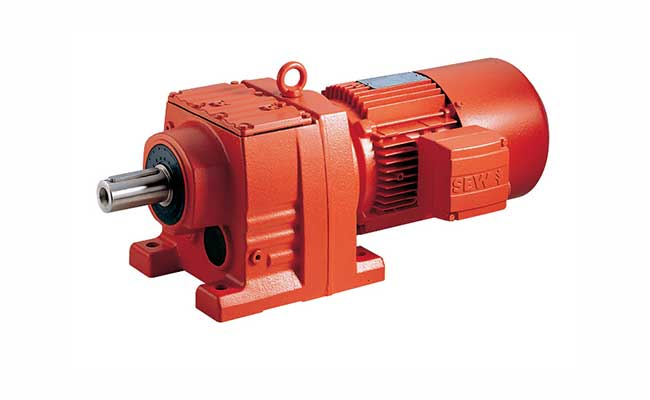 Gearing badger electric motor for Sew motors and drives